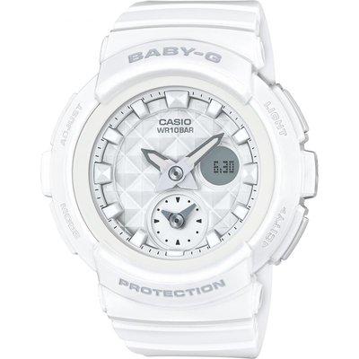 CASIO Casio Baby-G Stud Dial Damenchronograph in Weiß BGA-195-7AER