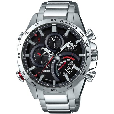 Casio Edifice Bluetooth World Traveller Herrenchronograph in Silber EQB-501XD-1AER