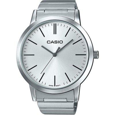 Casio Classic Vintage Style Herrenuhr in Silber LTP-E118D-7AEF
