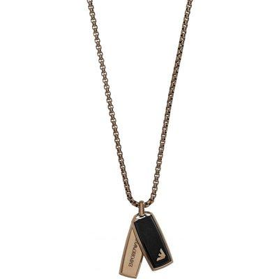 Emporio Armani Halskette PVD rosévergoldet EGS2342200