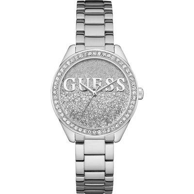 Guess Glitter Girl Damenuhr in Silber W0987L1