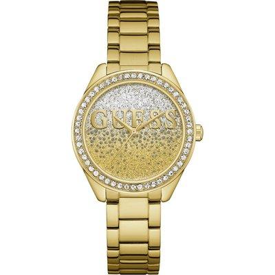 Guess Glitter Girl Damenuhr in Gold W0987L2 | GUESS SALE