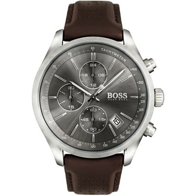 HUGO BOSS Hugo Boss Grand Prix Grand Prix Herrenchronograph in Braun 1513476