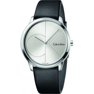CALVIN KLEIN Calvin Klein Minimal 40mm Unisexuhr in Schwarz K3M211CY