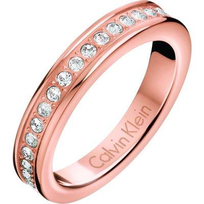 Calvin Klein Size N Hook Ring rosévergoldet KJ06PR140107