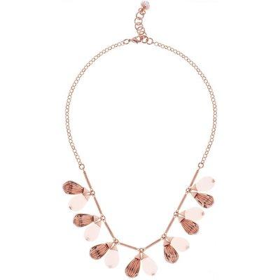 Ted Baker Kristall Polina Mini Plisse Halskette rosévergoldet TBJ1610-24-13 | TED BAKER SALE