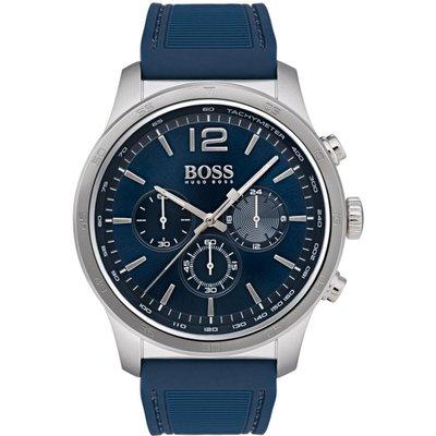HUGO BOSS Hugo Boss The Professional Professional Herrenchronograph in Blau 1513526