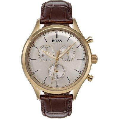 HUGO BOSS Hugo Boss Companion Companion Herrenchronograph in Braun 1513545
