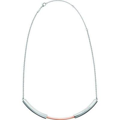 Calvin Klein Disclose Choker zweifarbige Beschichtung aus Stahl und Roségold KJ5FPJ200100   CALVIN KLEIN SALE
