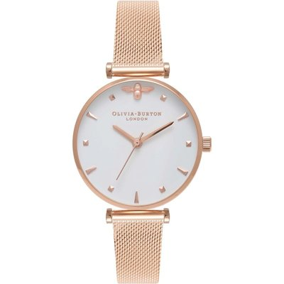 Olivia Burton 3D Bee 3D Bee Rose Gold And Silver & Rose Gold Damenuhr in Rosegold OB16AM105 | OLIVIA BURTON SALE