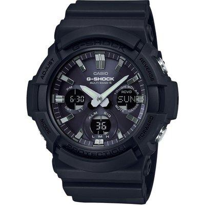CASIO Casio G-Shock Waveceptor Herrenchronograph in Schwarz GAW-100B-1AER