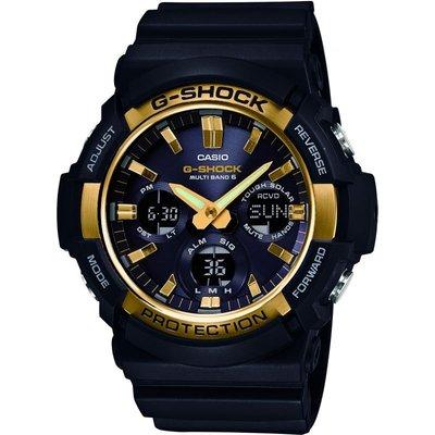 Casio G-Shock Waveceptor Herrenchronograph in Schwarz GAW-100G-1AER