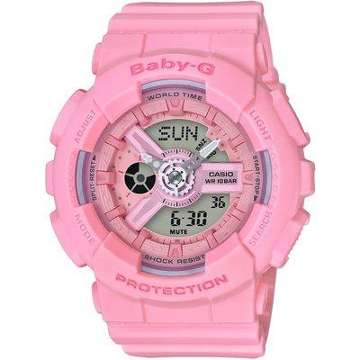 CASIO Casio Baby-G Damenchronograph in Pink BA-110-4A1ER