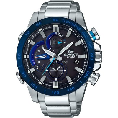 CASIO Casio Edifice Bluetooth Herrenchronograph in Silber EQB-800DB-1AER