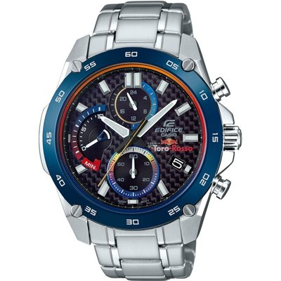 Casio Edifice Toro Rosso Special Edition Herrenchronograph in Silber EFR-557TR-1AER