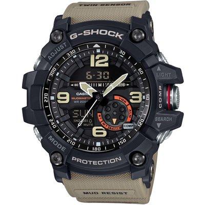 CASIO Casio G-Shock Mudmaster Exclusive Herrenchronograph in Khakifarben GG-1000-1A5ER