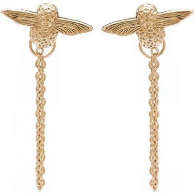 Olivia Burton Sterling Silver Moulded Bee Kette Ohrringe vergoldet OBJ16AME04   OLIVIA BURTON SALE