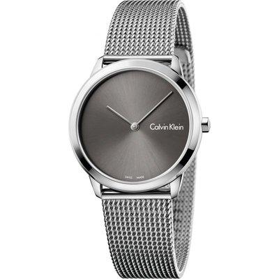CALVIN KLEIN Calvin Klein Minimal Damenuhr in Silber K3M221Y3