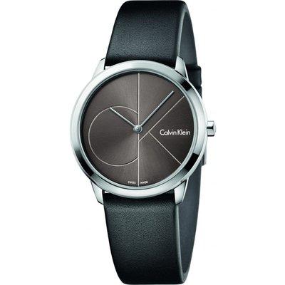 Calvin Klein Minimal Damenuhr in Schwarz K3M221C3