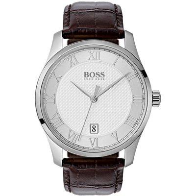 Hugo Boss Master Master Herrenuhr in Braun 1513586