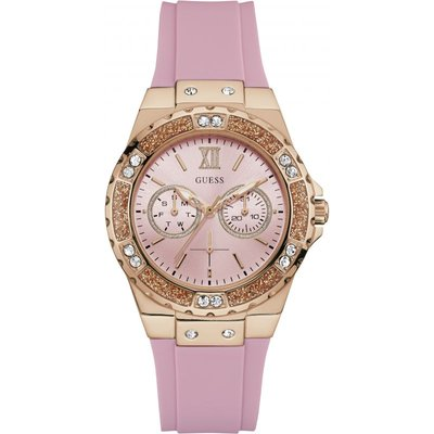 Guess Limelight J-LO Damenuhr in Pink W1053L3 | GUESS SALE
