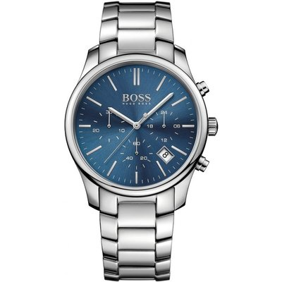 HUGO BOSS Hugo Boss Time One Herrenuhr in Silber 1513434