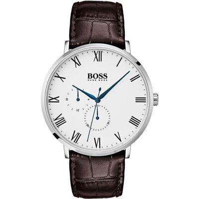 Hugo Boss William William Multifunction Herrenuhr in Braun 1513617