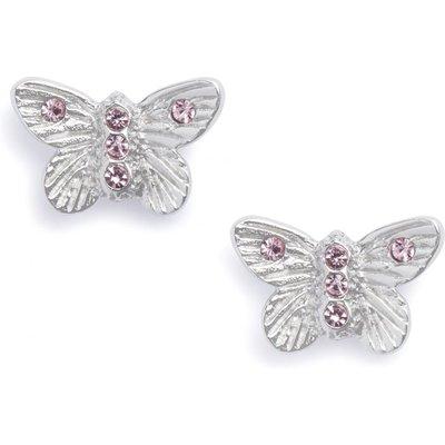 Olivia Burton Bejewelled Butterfly Stud Ohrringe versilbert OBJ16MBE08 | OLIVIA BURTON SALE