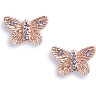 Olivia Burton Bejewelled Butterfly Stud Ohrringe rosévergoldet OBJ16MBE07 | OLIVIA BURTON SALE