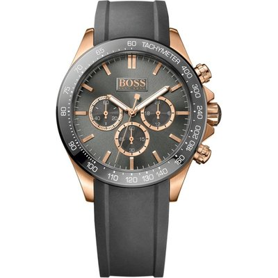 Hugo Boss Ikon Herrenuhr in Grau 1513342