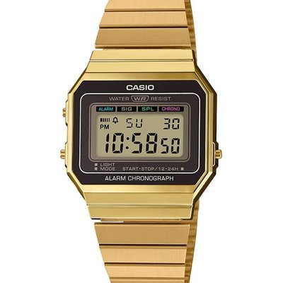 Casio Collection Collection Unisexuhr A700WEG-9AEF