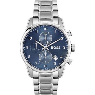 Hugo Boss Skymaster Skymaster Herrenchronograph in Silber 1513784 | HUGO BOSS SALE