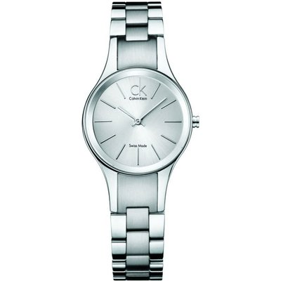 CALVIN KLEIN Calvin Klein Simplicity Damenuhr in Silber K4323185