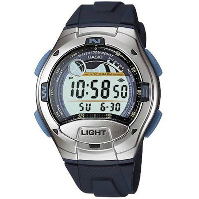 Casio Sports Herrenchronograph in Blau W-753-2AVES