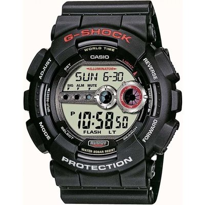 Casio G-Shock Herrenchronograph in Schwarz GD-100-1AER