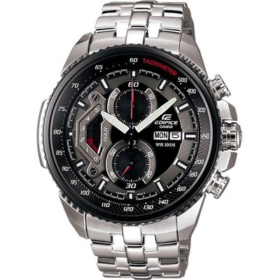 Casio Edifice Herrenchronograph in Silber EF-558D-1AVEF
