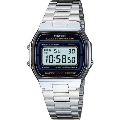 Casio Classic Unisexchronograph in Silber A164WA-1VES | CASIO SALE