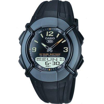 Casio Heavy Duty Combination Herrenchronograph in Schwarz HDC-600-1BVES   CASIO SALE