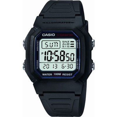 CASIO Casio Sports Gear Herrenchronograph in Schwarz W-800H-1AVES