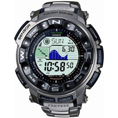 CASIO Casio Pro Trek Herrenchronograph in Silber PRW-2500T-7ER