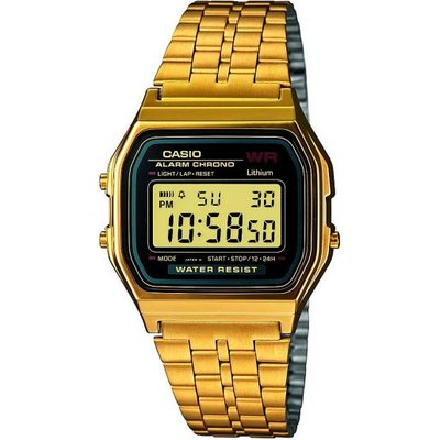 Casio Classic Unisexchronograph in Gold A159WGEA-1EF