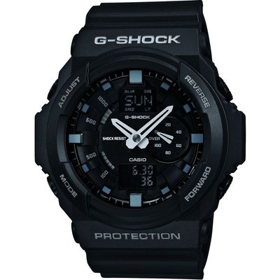 Casio G-Shock Herrenchronograph in Schwarz GA-150-1AER