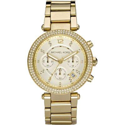 Michael Kors Parker Damenchronograph in Gold MK5354