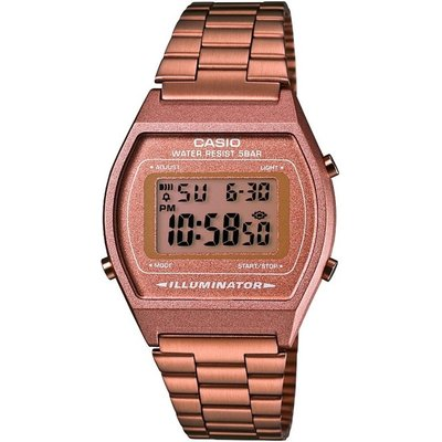 CASIO Casio Classic Damenchronograph in Rosa B640WC-5AEF