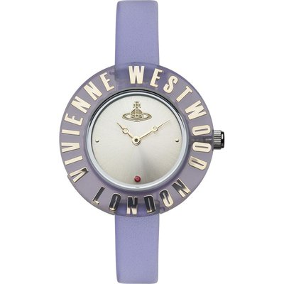 Vivienne Westwood Clarity Bright Damenuhr in Lila VV032PP