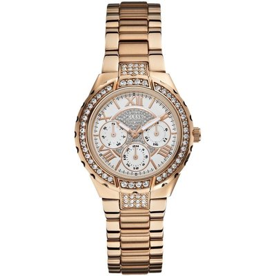Guess Viva Damenchronograph in Rosa W0111L3 | GUESS SALE