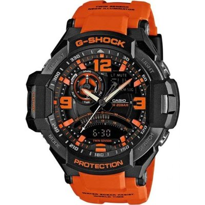 Casio G-Shock Sky Cockpit Herrenchronograph in Orange GA-1000-4AER