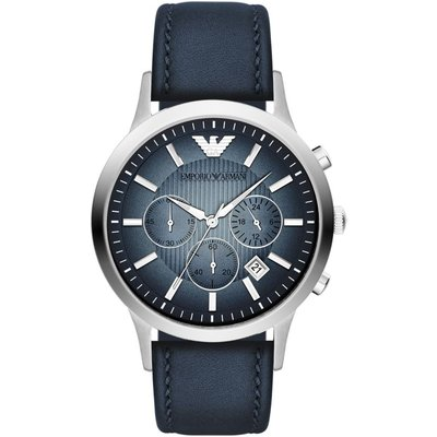 Emporio Armani Herrenchronograph in Blau AR2473