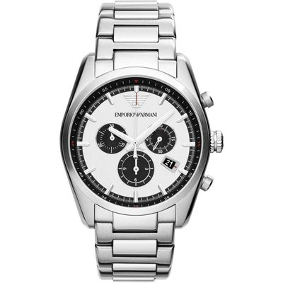 Emporio Armani Herrenchronograph in Silber AR6007
