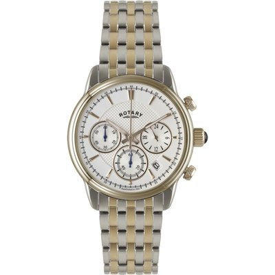 ROTARY Rotary Monaco Collection Herrenchronograph in Zweifarbig GB02877/06